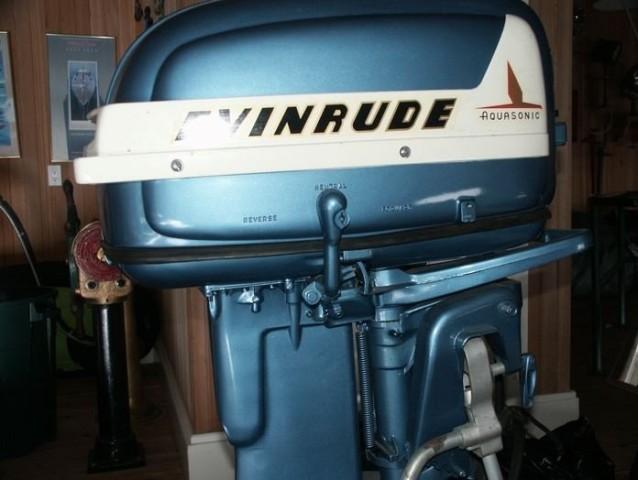 1955 25 HP EVINRUDE MOTOR